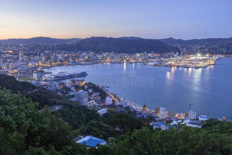 Wellington Nieuw Zeeland royalty-vrije stock foto's