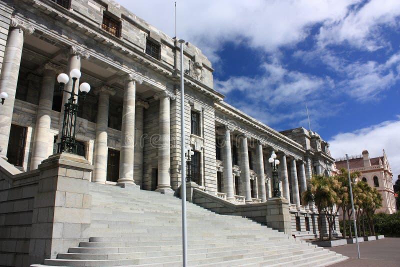 Wellington, Nieuw Zeeland stock afbeeldingen