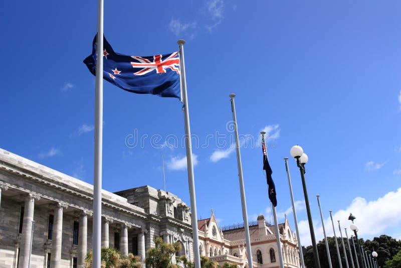 Wellington, Nieuw Zeeland royalty-vrije stock foto's