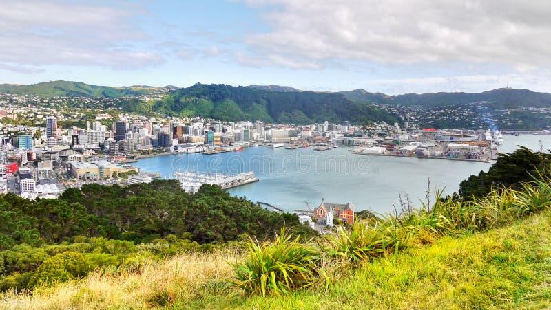 Wellington, Nueva Zelandia imagenes de archivo