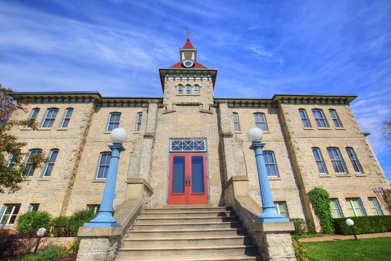 Wellington okręgu administracyjnego archiwa i muzeum obrazy stock