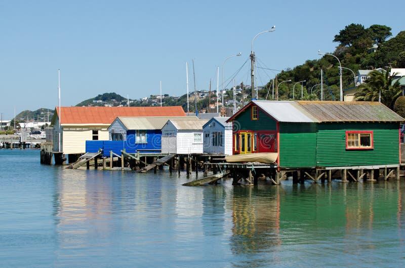 Wellington pejzaż miejski fotografia royalty free