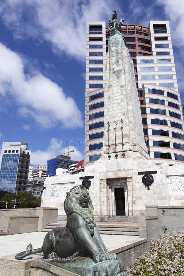 Wellington War Memorial imagenes de archivo