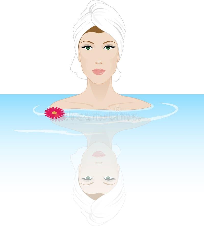 Wellness vector illustratie