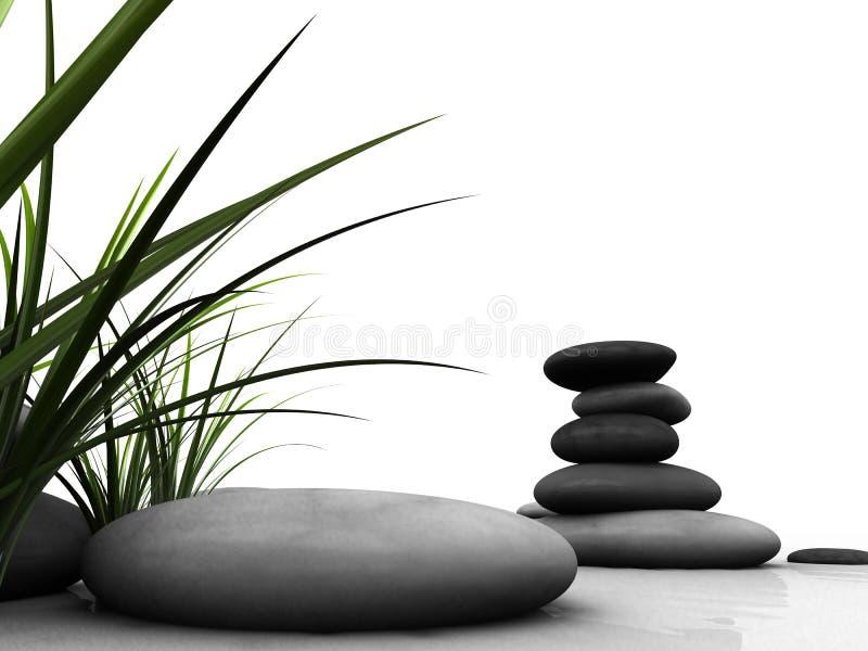 Download Wellness stock illustration. Illustration of peace, grass - 4170428