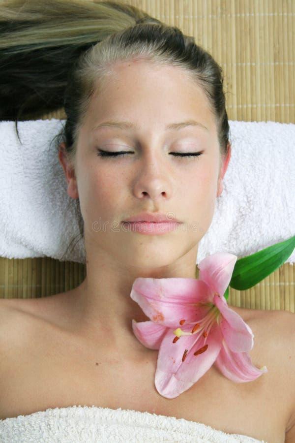 Free Wellness Beauty Portrait Royalty Free Stock Image - 2499716