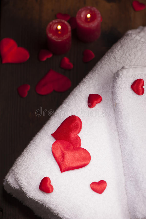 Download Wellness Decoration. Valentine`s Day Stock Image - Image: 83722987