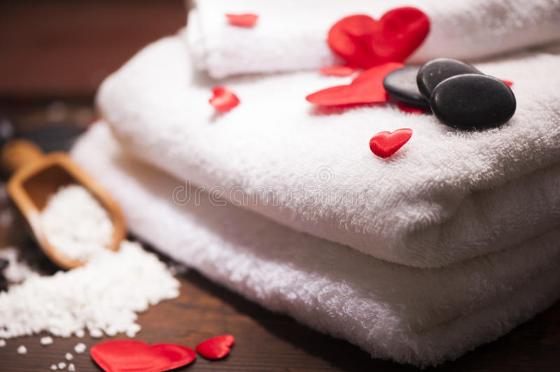 Download Wellness Decoration. Valentine`s Day Stock Image - Image: 83723061