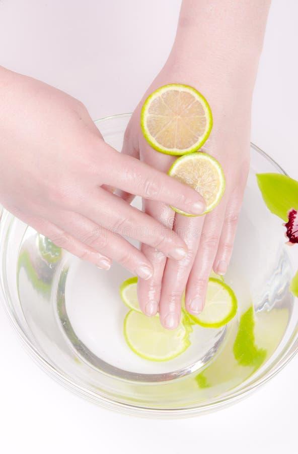 Wellness für Hände lizenzfreie stockfotografie