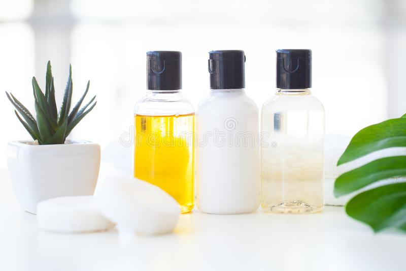 Wellness kosmetyki i produkty Ziołowy i kopalny skincare Ja zdjęcie stock
