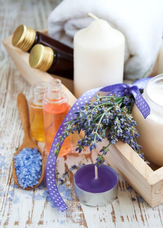 Wellness Produkty Obrazy Stock