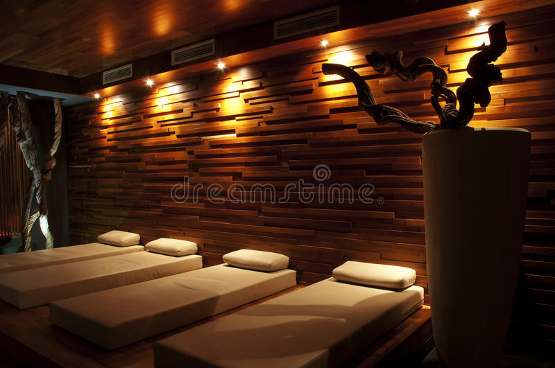 Download Wellness Restroom With Beds Royalty Free Stock Photos - Image: 18935888