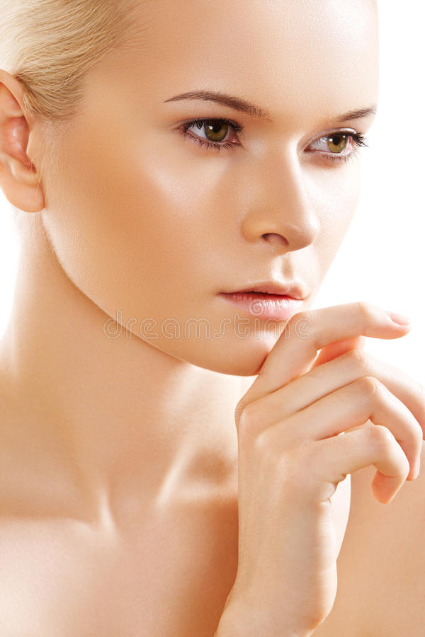 Download Wellness, Skin Care. Sensual Spa Purity Face Model Stock Photos - Image: 18801483