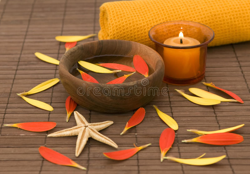 Download Wellness spa products stock image. Image of plant, candles - 12409977