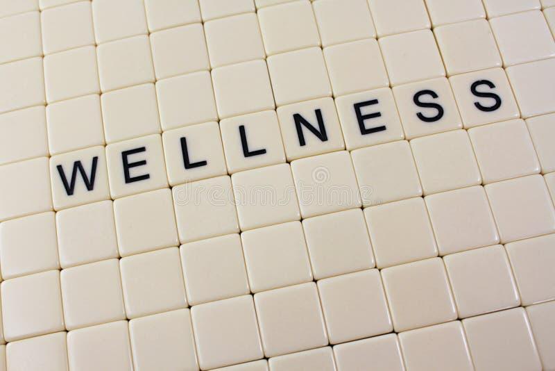 Wellness in Tegels royalty-vrije stock afbeelding