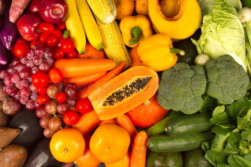 Wellness van Dieetprogramma met het gezonde eten stock foto's