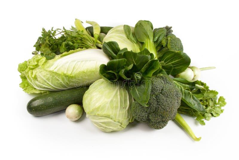 Wellness van groen plantaardig voedsel voor dieet en het gezonde eten royalty-vrije stock fotografie