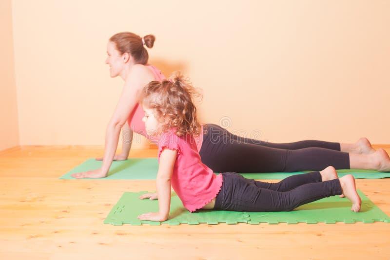 Wellness yoga exercises royalty free stock image