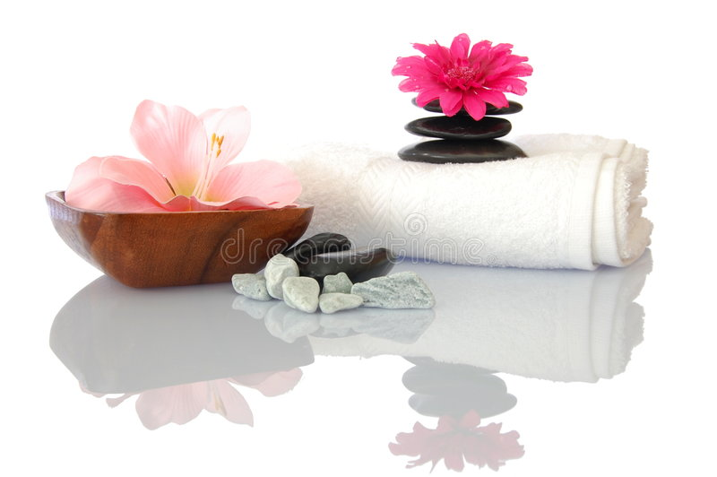 Download Wellness zen and spa stock image. Image of decorate, orchids - 9319429