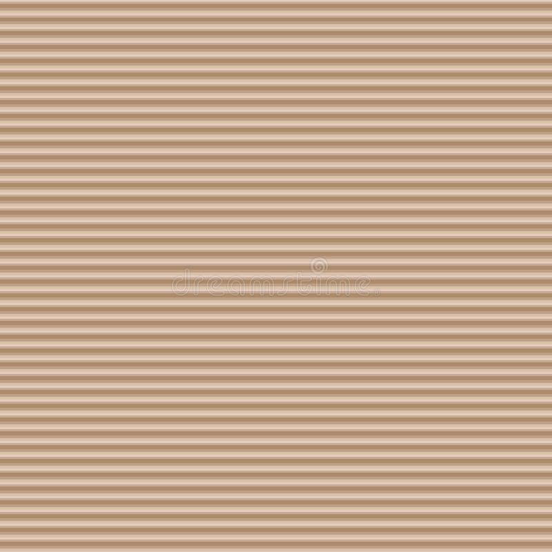 Wellpappe, nahtloser Vektorhintergrund vektor abbildung