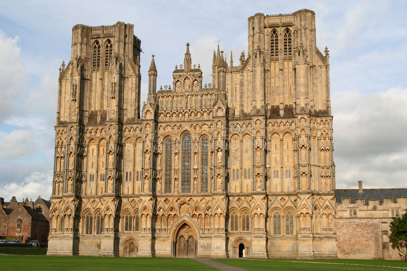 Wells Cathedral. royalty free stock images