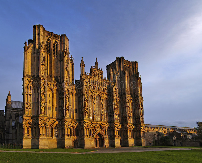 Wells Cathedral royalty free stock photography