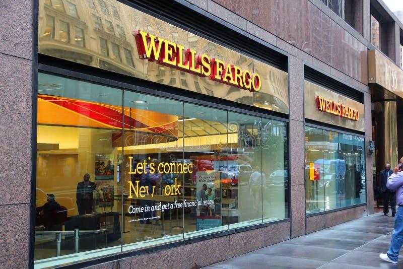 Wells Fargo Нью-Йорк стоковая фотография