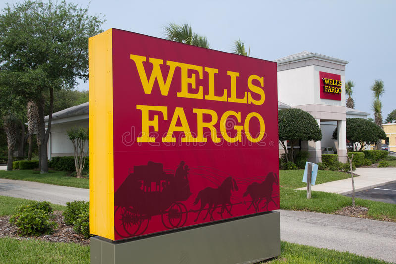 Wells Fargo royalty free stock photography