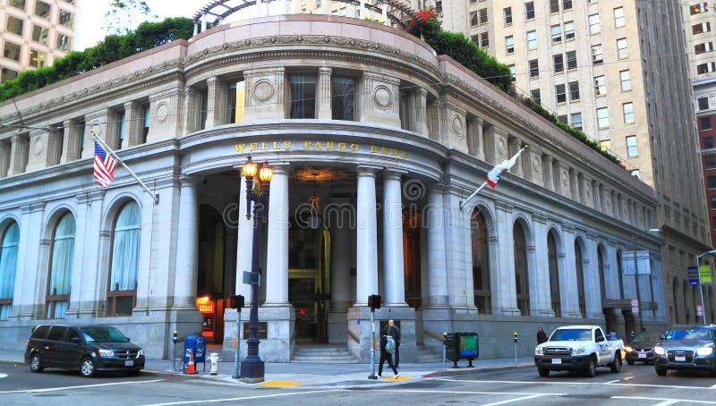 Wells Fargo Bank imágenes de archivo libres de regalías