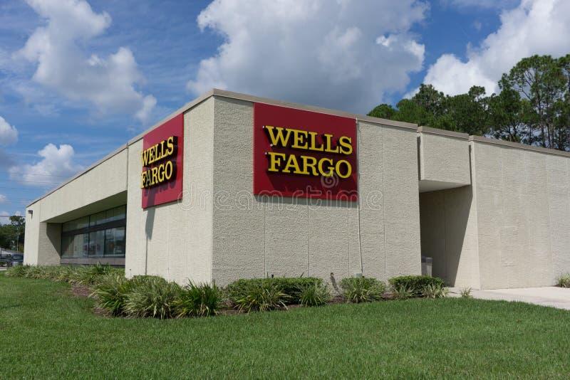 Wells Fargo Bank imagem de stock royalty free