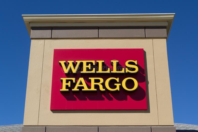 Wells Fargo Bank foto de stock royalty free