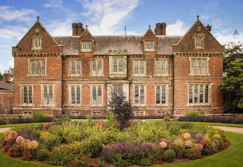 Wells House and Gardens. Wexford. Ireland. Wells House and Gardens, victorian tudor gothic country house near Kilmuckridge. Wexford. Ireland stock photography