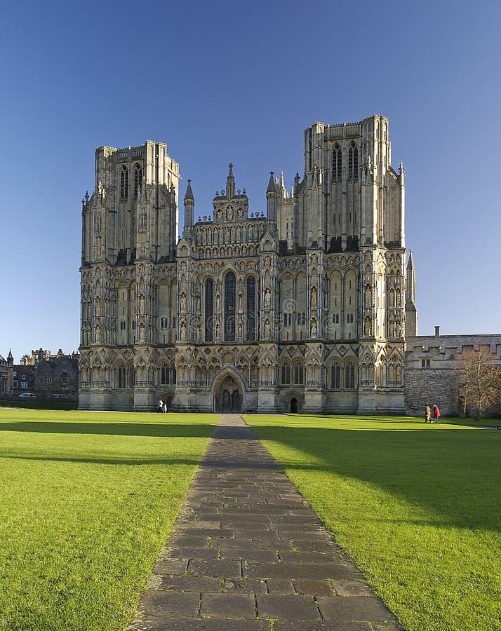 Download Wells katedralne zdjęcie stock. Obraz złożonej z somerset - 129624