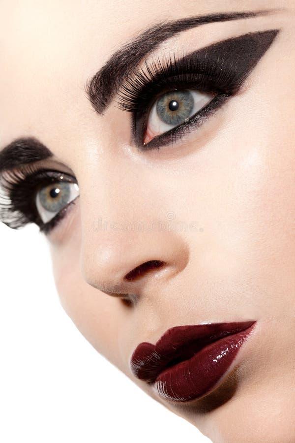 Wellustige Gotische Schoonheid stock fotografie