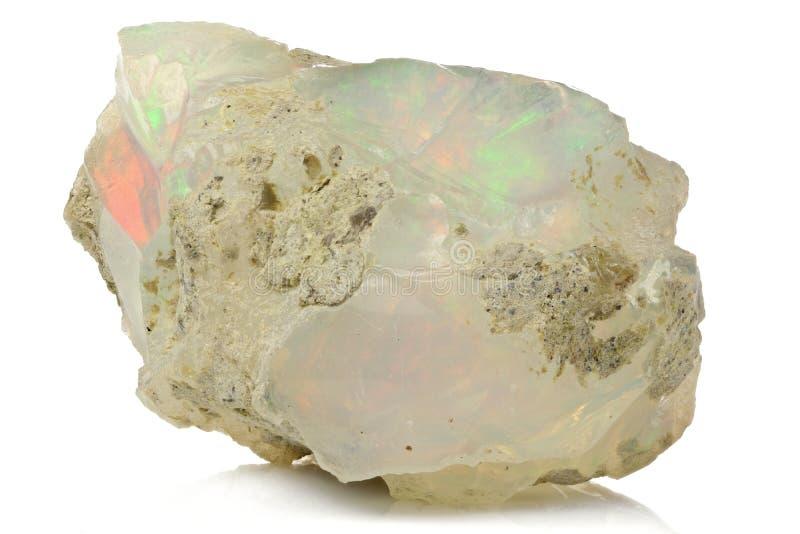 Welo opal arkivfoton