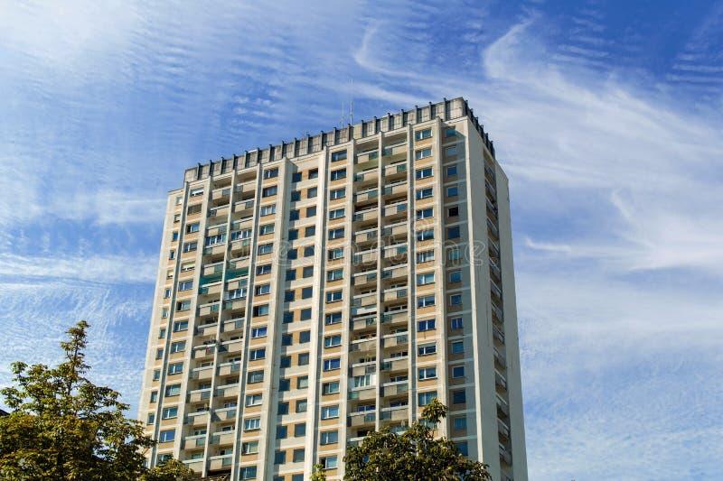 Wels, austria, high-rise. A high-rise building in the city of wels in upper austria, austria stock photo