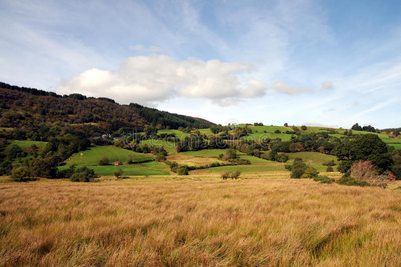 Welse Vallei in Snowdonia royalty-vrije stock foto's