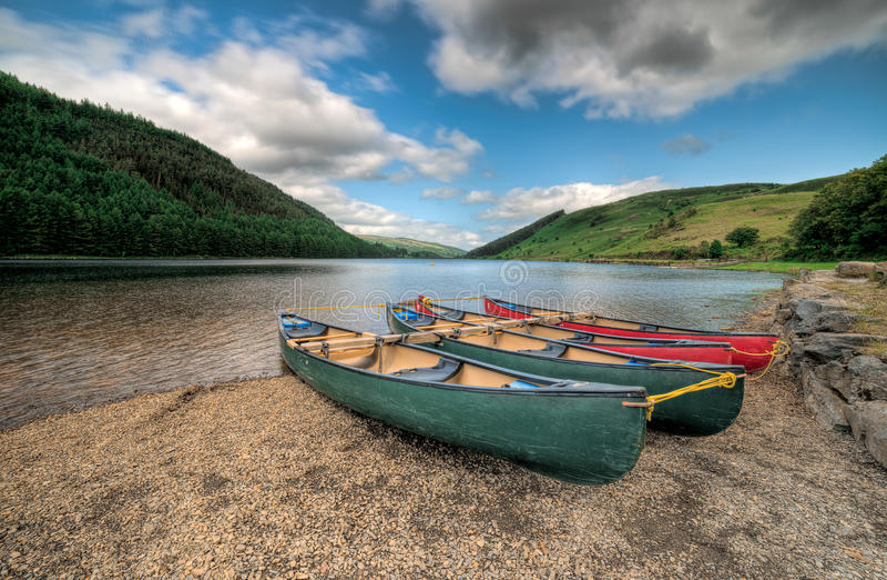 Welsh湖 免版税库存图片
