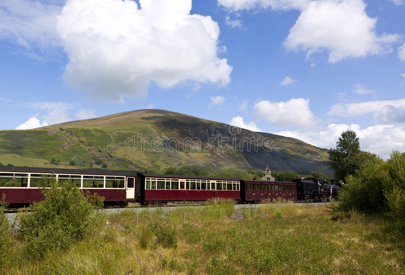 Download Welsh Highland Vintage Railway Stock Photo - Image: 20376510