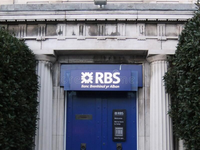 Welsh Royal Bank Of Scotland Branch Free Public Domain Cc0 Image