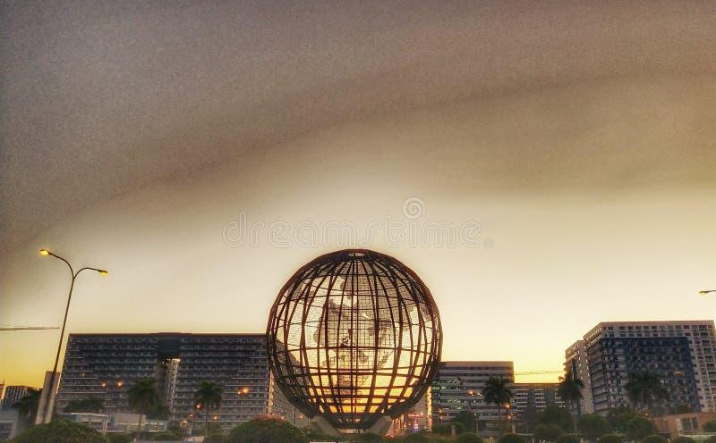 Welt des Lichtes stockbild