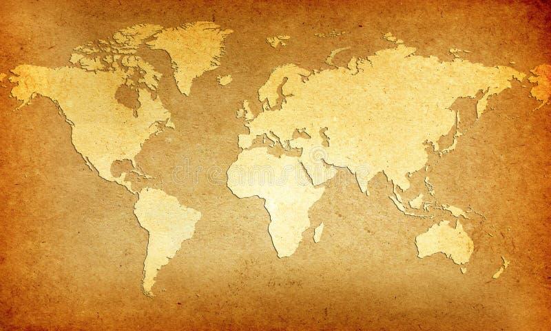 Welt-Karte
