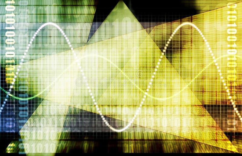 Welt-Markt-Finanzforschung vektor abbildung