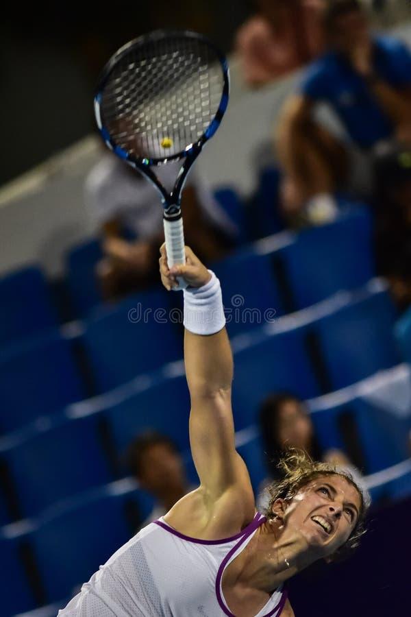 Welt No Spieler des Tennis 20 Sara Errani stockbild