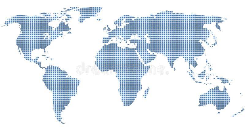 Download Welt raster stock illustration. Illustration of creative - 10386484