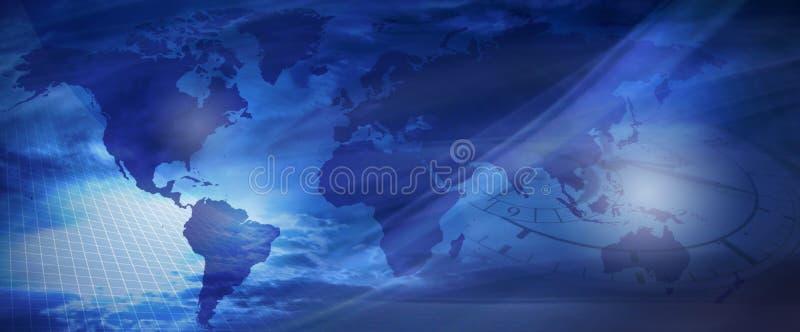 Welt Und Zeit? Lizenzfreie Stockfotografie
