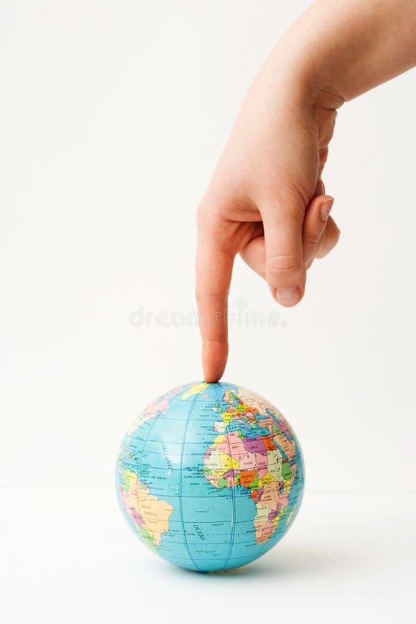 Welt unter Druck. stockbilder