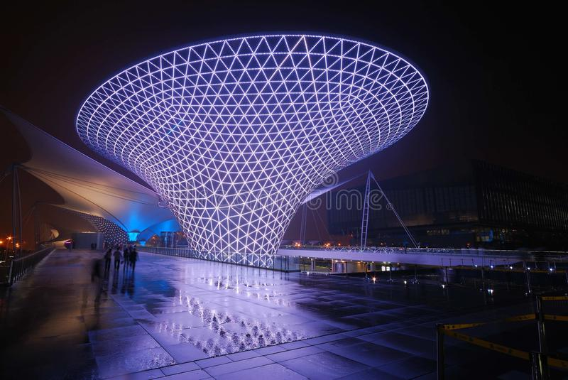 Weltausstellung 2010 stockbild