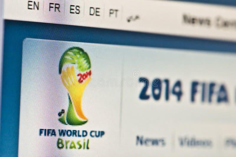 Weltcup Brasilien stockbilder