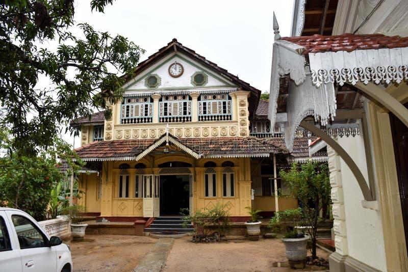 Welterbarchitekturgebäude in Sri Lanka stockfoto
